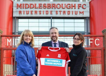 Hospices team up for unique match of the day at Middlesbrough FC