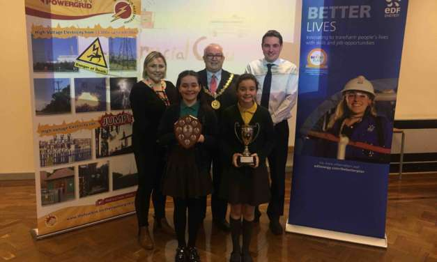 Students' safety tips shine at annual Crucial Crew ceremony