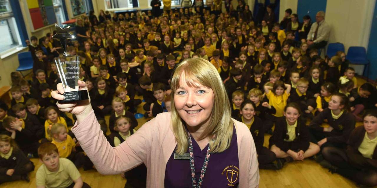 MUM'S THE WORD FOR TEESSIDE HERO WINNER JANE