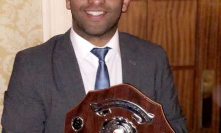 Rising star surveyor is first to win Brian Crumbley Shield