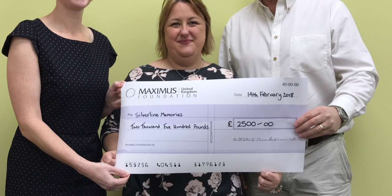 Local charity awarded grant to support people living with Dementia in the community