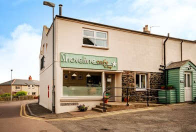 Cafe & village store on the Northumberland Coast comes to the market