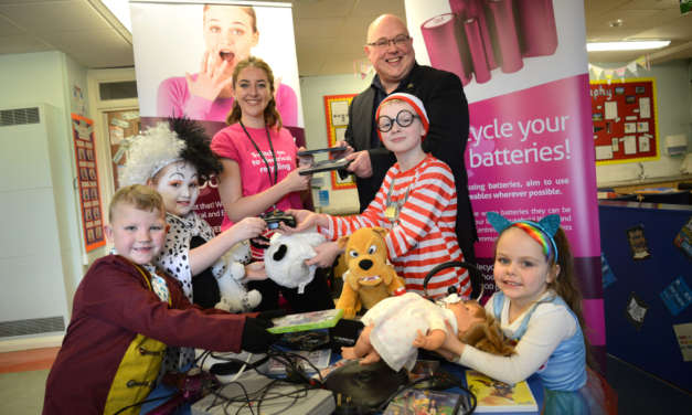 North East schools learn recycling lessons from North East charity