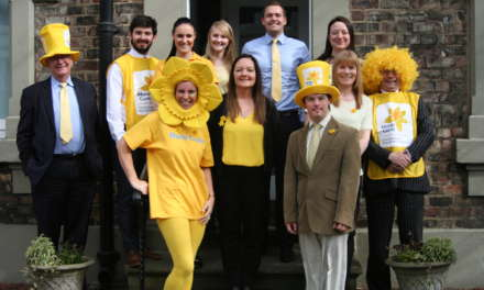 North East business advisers raise the bar with £1,300 charity donation