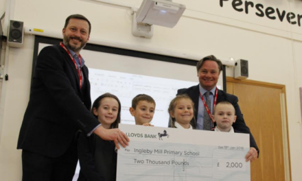 Biochemica Water Donates NEPIC Prize Fund to Local School