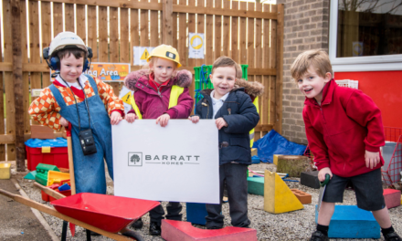 Barratt Homes' donation creates outdoor space for pupils at local primary school
