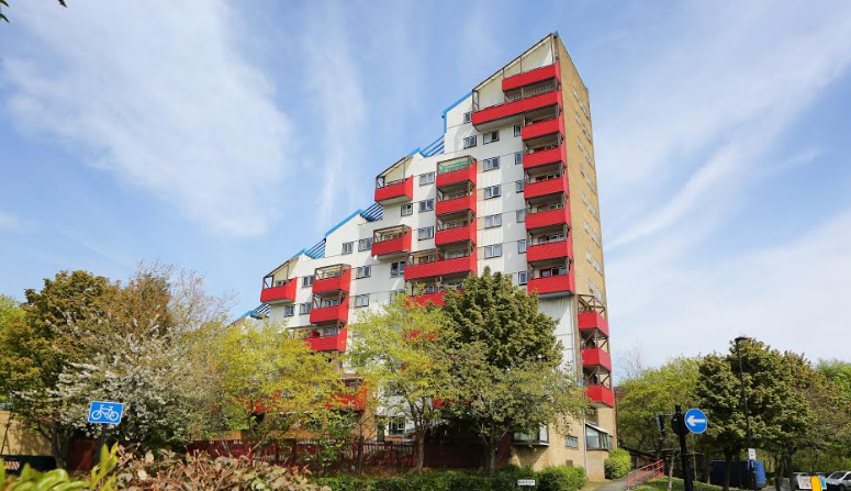 Work commences to install sprinklers into one of Byker's most iconic buildings