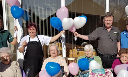 Elderly celebrate Mother's Day in North East care homes