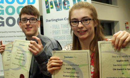 Students of the year enjoy the taste of success