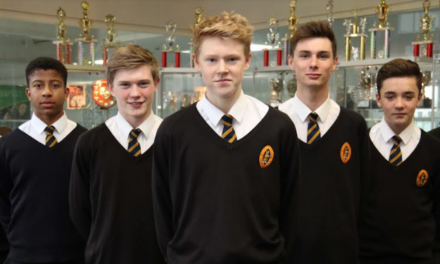 Schoolboy footballers win through to national finals thanks to nerves of steel