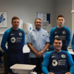 Jesmond dental practice scores sponsorship deal with football club