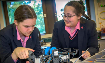 Gosforth Girls School puts STEM Subjects Centre Stage