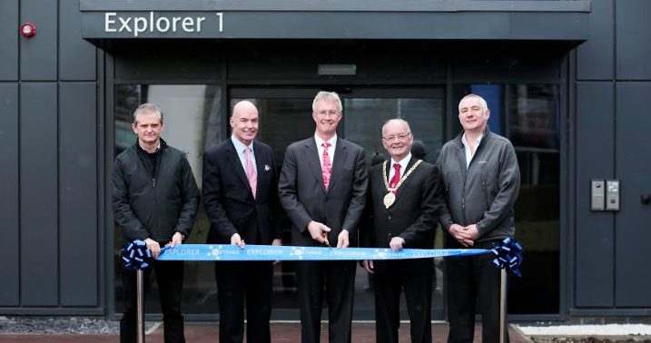 £7.4m development opens at leading technology park
