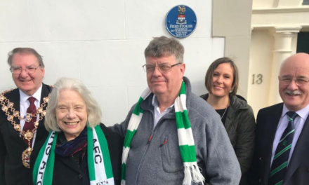 Honour for Blyth Spartans Founder