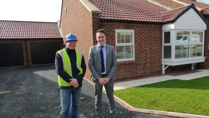 New property development begins in Pegswood