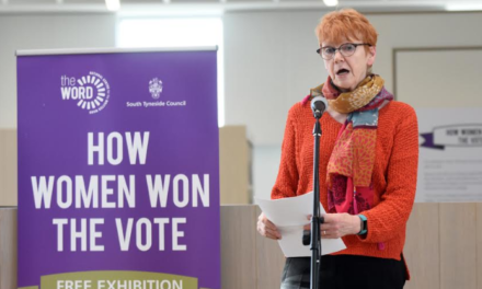 Dame Vera pays tribute to the women that won the vote