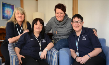 Hospice celebrates ten year training partnership with college