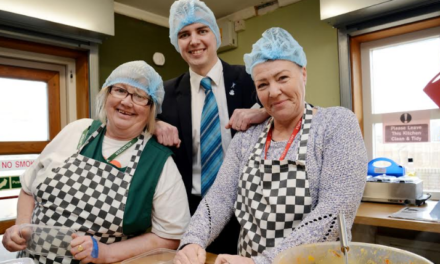 Successful 'Soup-a-Gran' Project Growing with Newcastle Building Society Grant Support