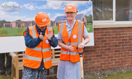 Ground breaking day for local Hospice