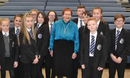 Holocaust survivor meets Seaham schoolchildren