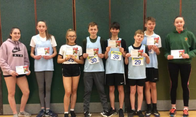 Young athletes on track for success