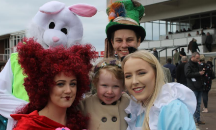 Horses and bunnies ready for a cracking Easter start at Redcar