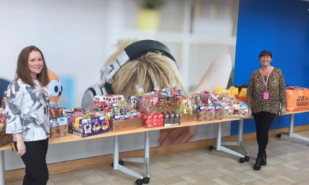 Energy employees' Easter collection supports Wearside charity