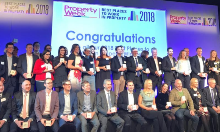 Property Week recognises Communicate as one of the best places to work in the UK