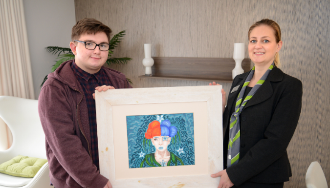 Sunderland student brings a touch of 'teal' to local development