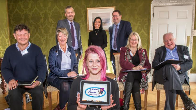 Entrepreneurial care leaver wows Dragons for business investment