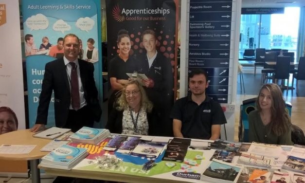 Find out more about apprenticeships at pop up event