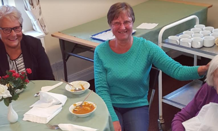 National Pie Week celebrated at Newcastle care home