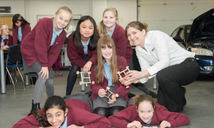 College open doors to primary schools to mark International Women's Day