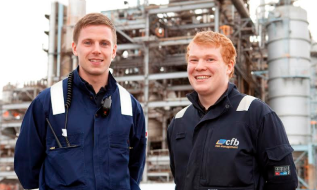 North East apprentices on their way to careers in industrial protection