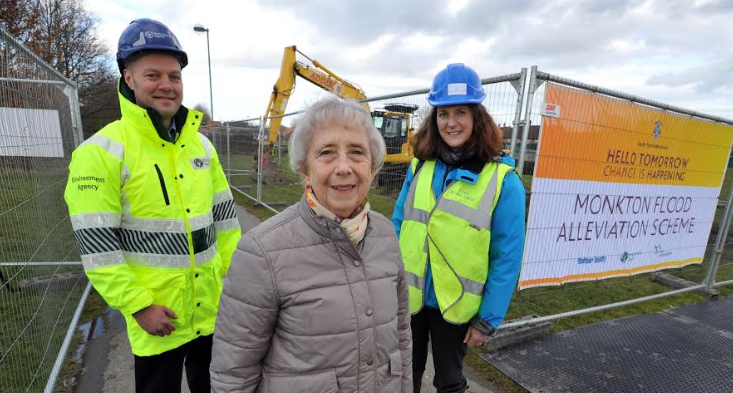 Work starts on multi-million pound flood scheme