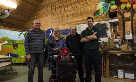 Mobility Scooter set to open up Flatts Lane Country Park
