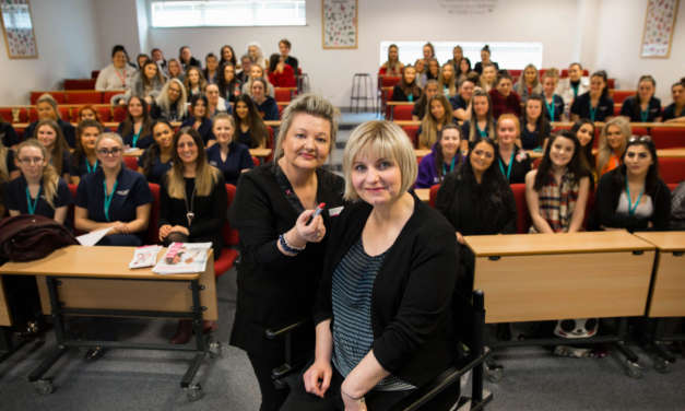 Students given chemotherapy makeup masterclass