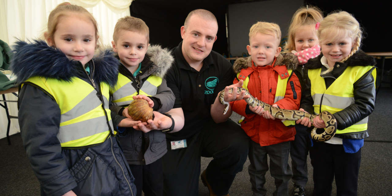 ZooLab delights local schoolchildren at Westfield Farm