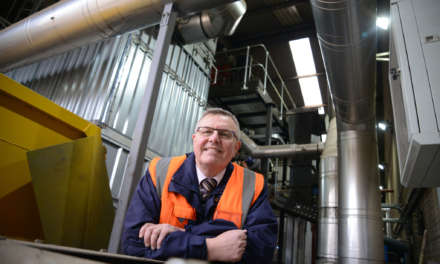 Scott Bros. proves its commitment to circular economy and the environment with new biomass boiler