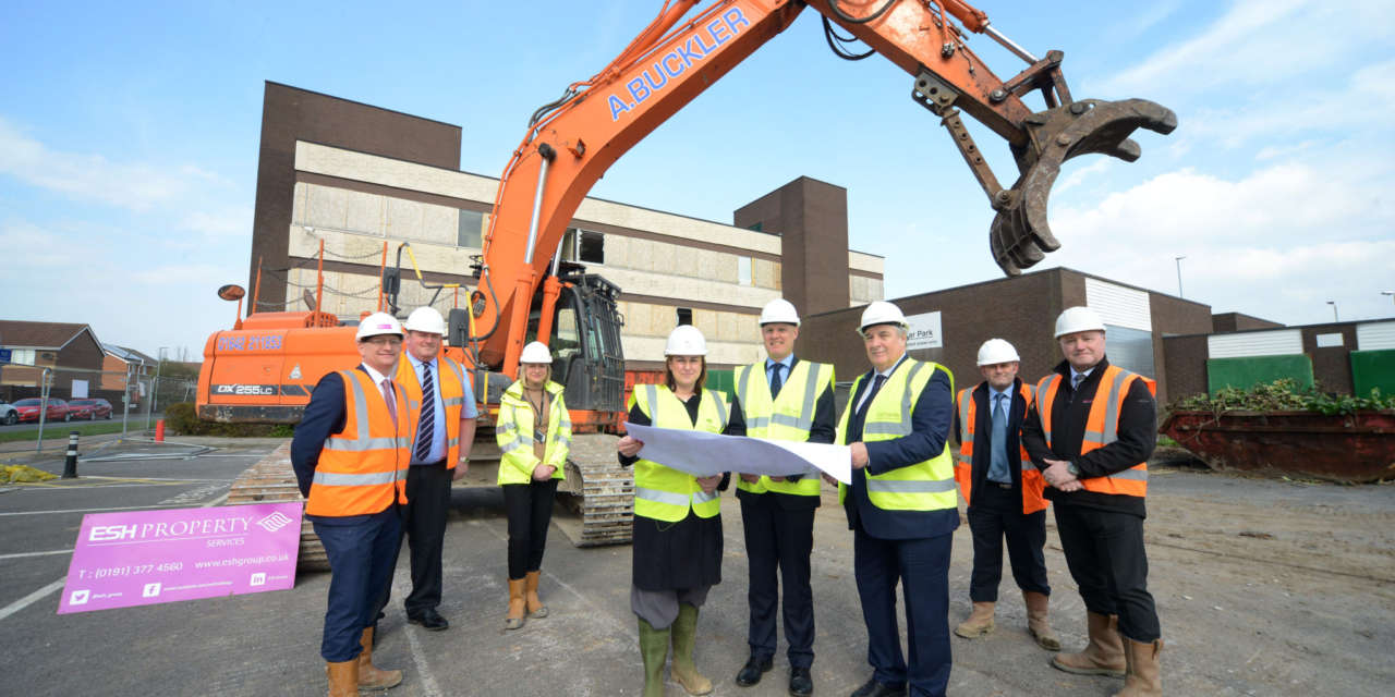 Start on site for new homes in Stockton