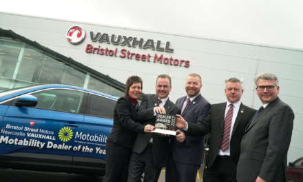 Bristol Street Motors Newcastle Vauxhall named best UK dealer by national disability motor scheme