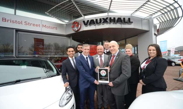 National award wins for Bristol Street Motors in the North East