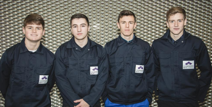 Apprentices expand their knowledge with new roles at metal mesh manufacturer