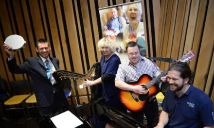 Newcastle Building Society Grant Shines a Light on Sunbeams' Musical Orchard Plans
