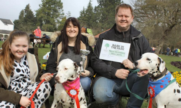 Dog owners have fundraising licked