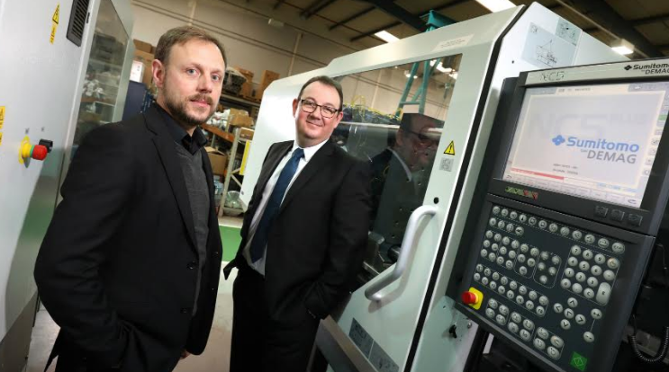 Omega Plastics go green with new all-electric machine acquisition