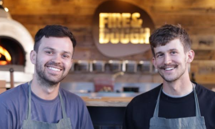 Childhood Friends Launch Business with Free Pizza Party