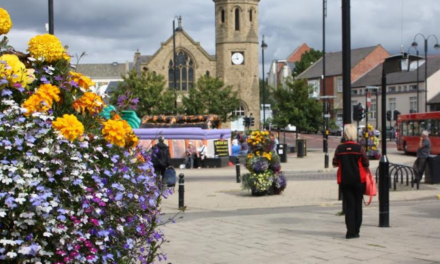 Durham prepares for the Northumbria in Bloom judges
