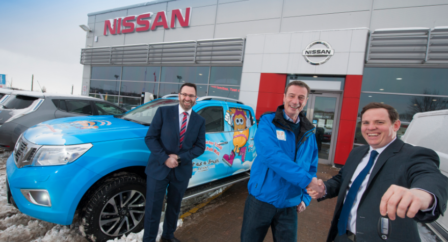 Nissan Lends its Support to National Charity Challenge