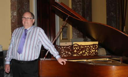 Grandfather stages concert for brilliant young pianist after being inspired on social media